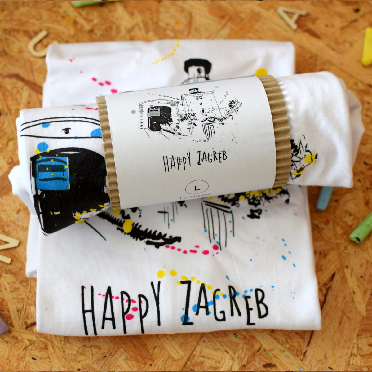 Happy Zagreb T-shirt