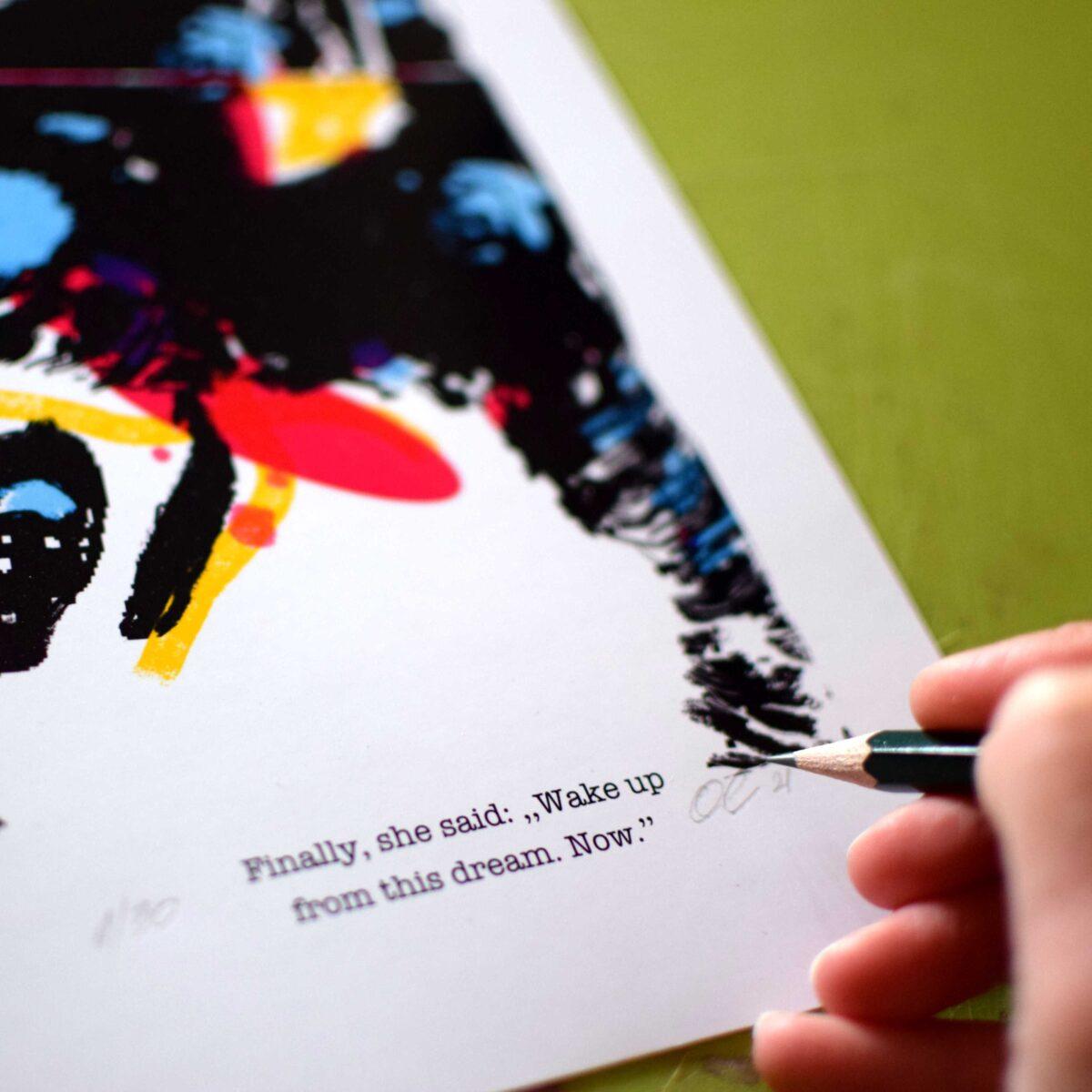 WakeUp Print Olivera Cavric